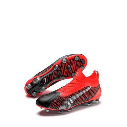 Puma Fußballschuhe One 5.1, rot/silbern