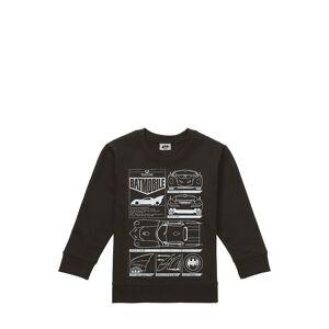 DC Comics Sweatshirt Batmobil, Rundhals schwarz