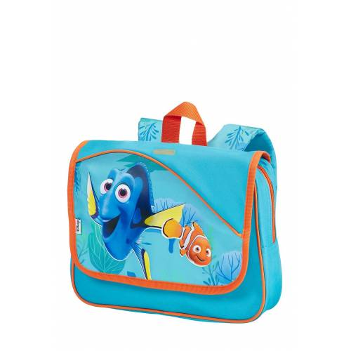 Disney Schultasche, B35 x H28,5 x T2 cm blau