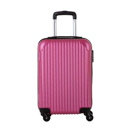 Travel World Handgepäck-Trolley, B22 x H55 x T34 cm rosa