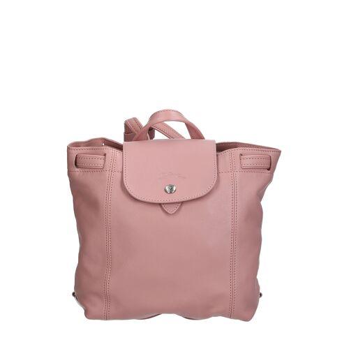 Longchamp Rucksack XS, Leder, B25 x H23 x T11 cm rosa