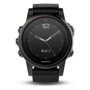 Garmin GPS-Multisport-Smartwatch fēnix® 5S Saphir schwarz