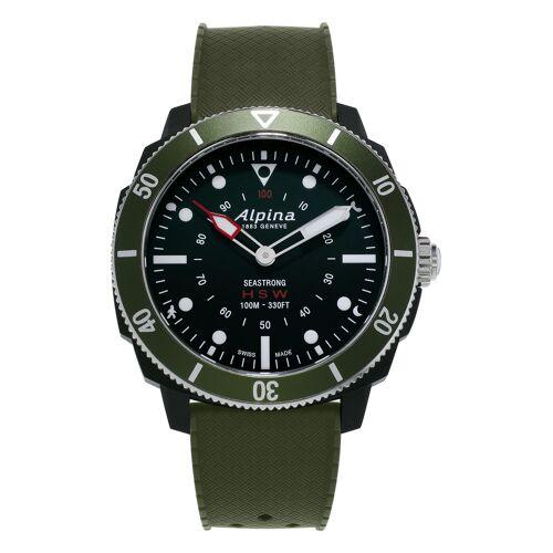 Alpina Smartwatch Seastrong, Bluetooth grün