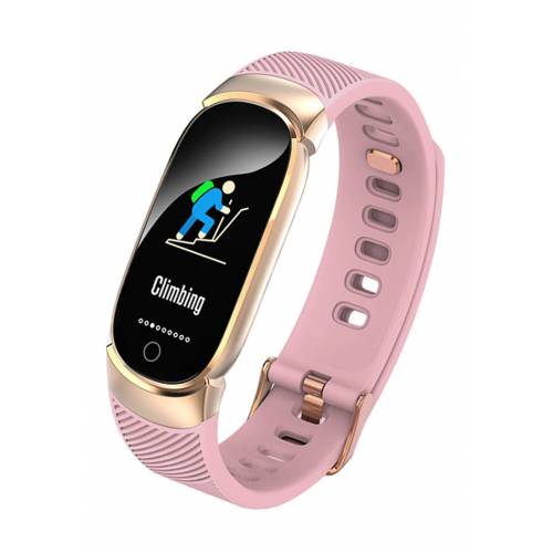Platyne Bluetooth-Smartwatch, B24,5 x H2 x T1 cm rosa