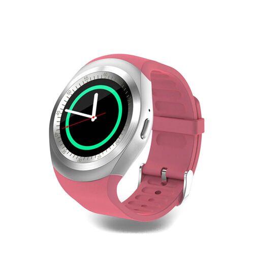 Smart Case Smartwatch mit Funktion, B13 x H7 x T2 cm rosa