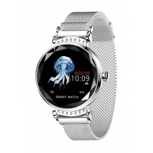 Smart Case Smartwatch silber