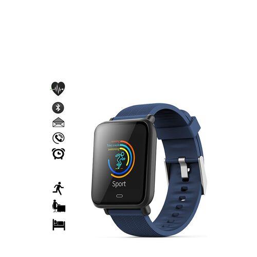 Platyne Smartwatch IOS und Android, L23,5 cm blau