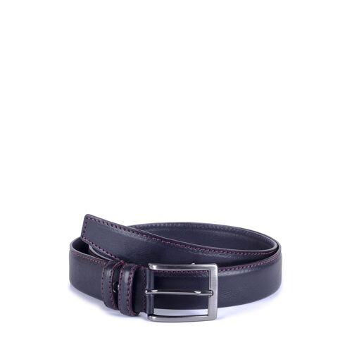 Ortiz UND Reed Gürtel Bartolo, Leder, B3,5 cm schwarz