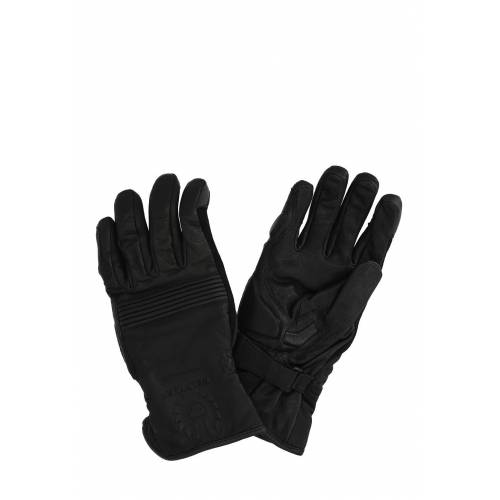 Belstaff Motorrad-Handschuhe Cairn, Leder, schwarz