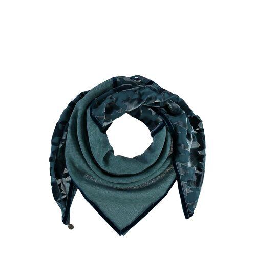 Fraas Tuch, L84 x B84 cm blau
