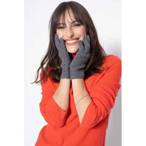 Authcashmere Handschuhe Roc, Kaschmir grau