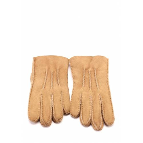 UGG Handschuhe Tech, Leder/Lammfell beige