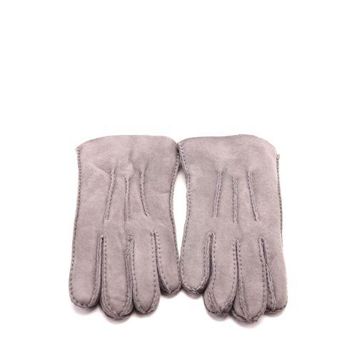 UGG Handschuhe Tech, Leder/Lammfell grau