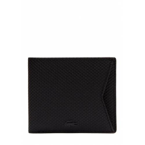 Lacoste Brieftasche, Leder, B11 x H9 x T2 cm schwarz