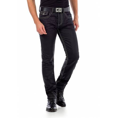 Cipo & Baxx Jeans, Slim Fit schwarz