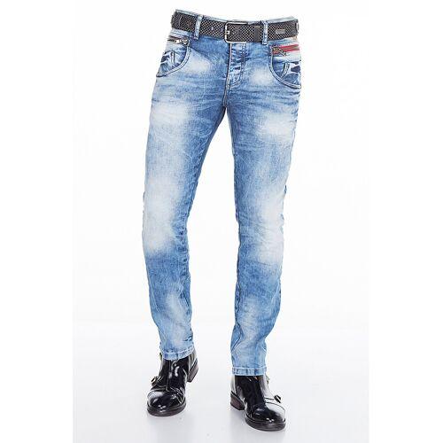Cipo & Baxx Stretch-Jeans blau