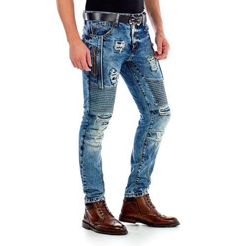 Cipo & Baxx Jeans, Slim Fit blau