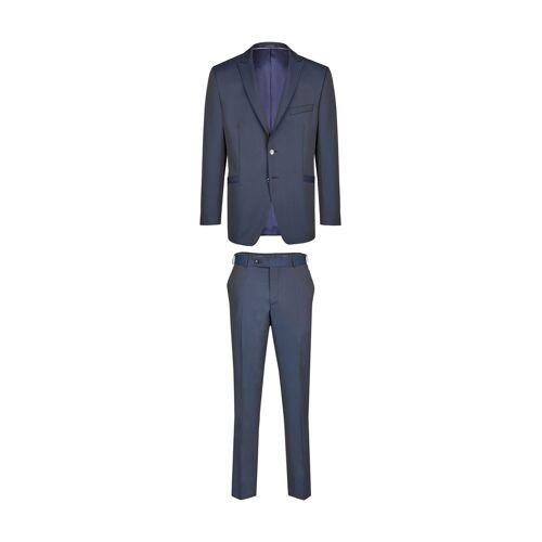 Wilvorst Anzug, Slim Line blau