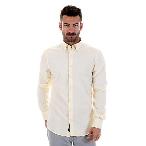 Gant Hemd, Langarm, Kentkragen, Slim Fit gelb