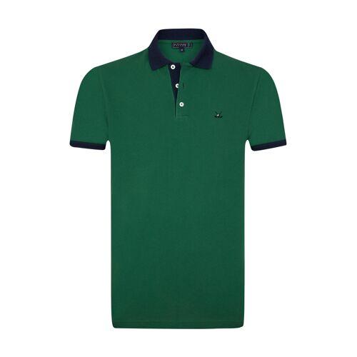 SIR Raymond Tailor Polo-Shirt Bomonthy grün