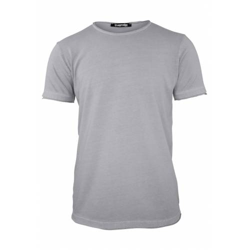 Trueprodigy T-Shirt, Rundhals, Slim Fit grau