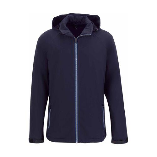 Golfino Golf-Jacke, wattiert, Kapuze blau