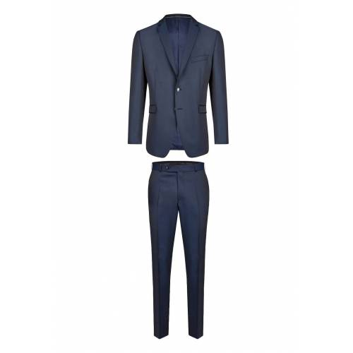 Wilvorst Anzug Slim Line, Slim Fit blau