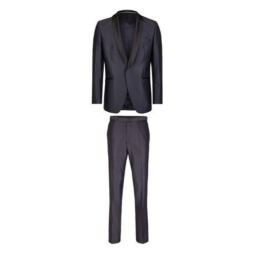 Wilvorst Anzug Drop 8, Super Slim Fit blau