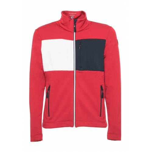 Tommy Hilfiger Trainingsjacke, Stehkragen, Regular Fit rot