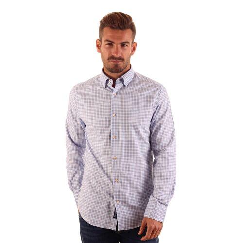 Gant Hemd, Kentkragen blau