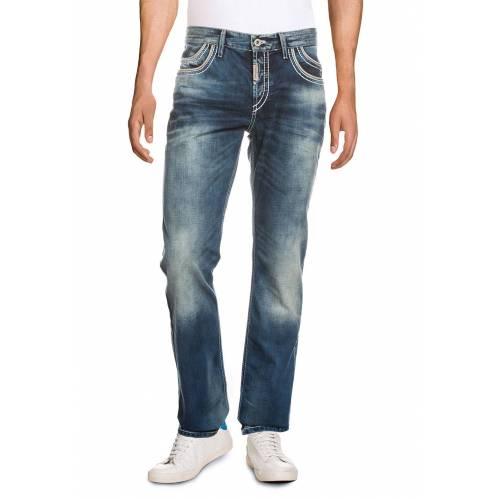 Cipo & Baxx Jeans, Regular Fit blau