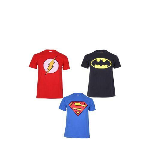 DC Superheroes T-Shirt DC Superheroes, 3er-Pack, Rundhals bunt