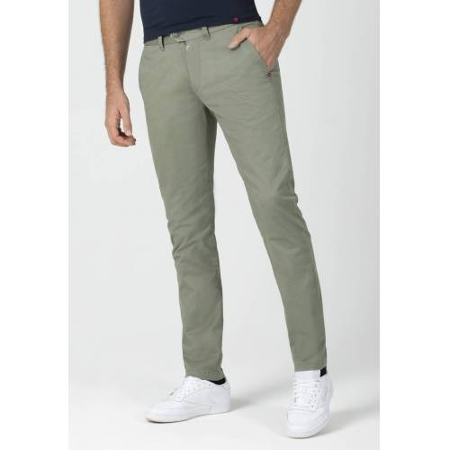 Timezone Chino, Slim Fit grün