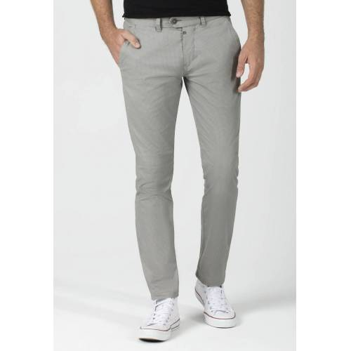 Timezone Chino, Slim Fit grau