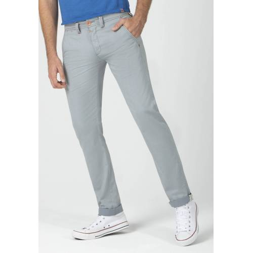 Timezone Stretch-Jeans, Regular Fit grau