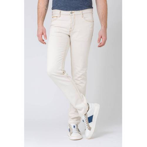 Care Label Jeans, Slim Fit weiß
