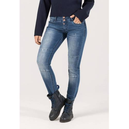 Timezone Jeans Enya TZ, Slim Fit blau
