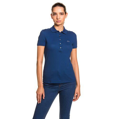 Lacoste Polo-Shirt, taillierter Schnitt blau