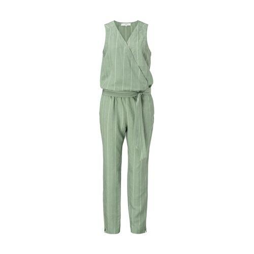 Yaya Jumpsuit, ärmellos, V-Ausschnitt grün