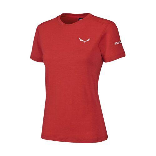 Salewa T-Shirt, Kurzarm, Atmungsaktiv rot