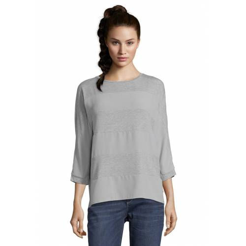 Betty & CO Shirt, 3/4-Arm, Rundhals grau