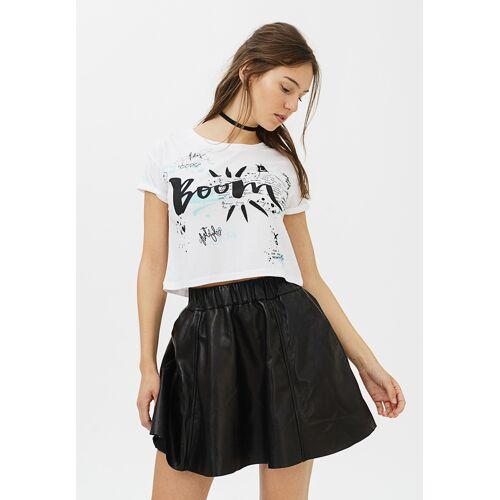 Trueprodigy T-Shirt Boom, Rundhals weiß