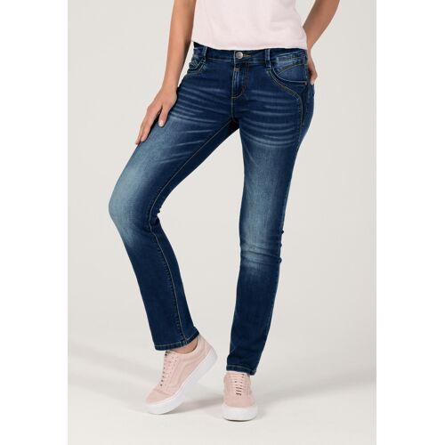 Timezone Stretch-Jeans Sera, Slim Fit blau