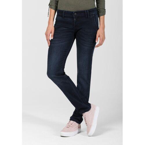 Timezone Stretch-Jeans Nali, Slim Fit blau