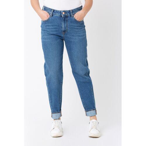 Care Label Jeans, Regular Fit blau