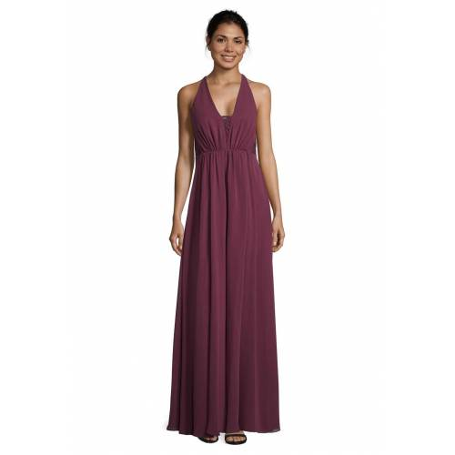 Vera Mont Abendkleid, ärmellos, V-Ausschnitt lila
