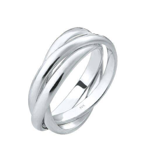 Elli Ring, 925 Sterlingsilber, silbern