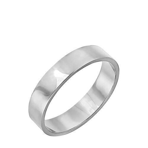 Diamant PUR Hochzeitsring, 375 Weißgold silber