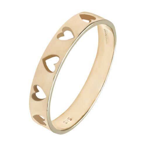 Diamant PUR Ring, 375 Gelbgold
