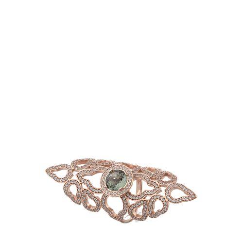 Thomas Sabo Ring, 925 Sterlingsilber, Zirkonia gold